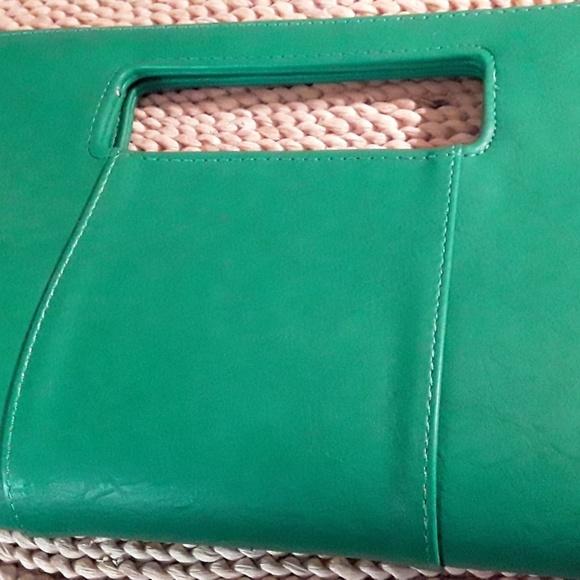 Charming Charlies Handbags - Charming Charlies Bright Lime green clutch